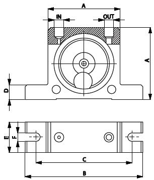 Wibrator pneumatyczny typu kulowego S